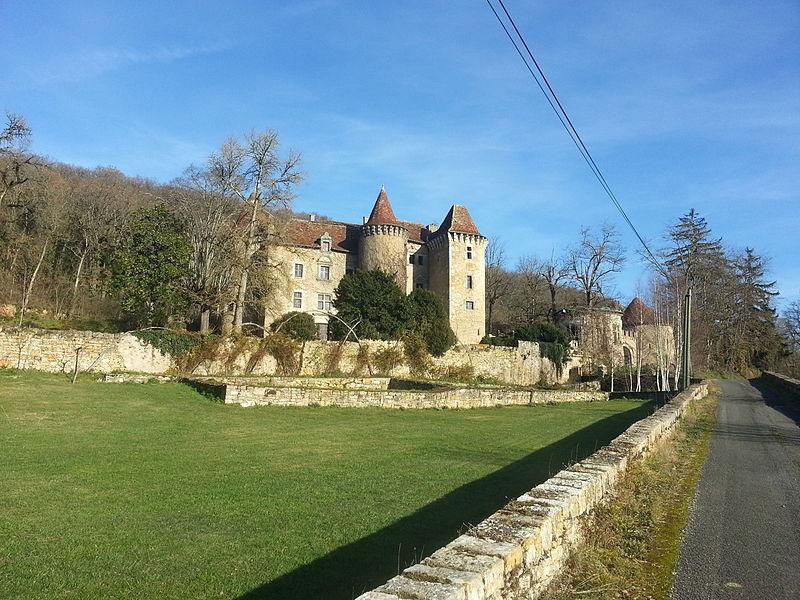 Photo du Monument Historique Château de Ceint-d'Eau situé à Figeac
