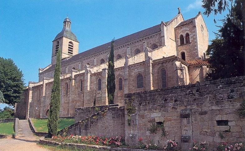 Photo du Monument Historique Eglise Notre-Dame-du-Puy situé à Figeac