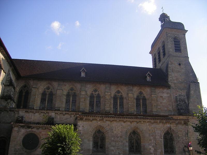 Photo du Monument Historique Eglise Saint-Sauveur situé à Figeac