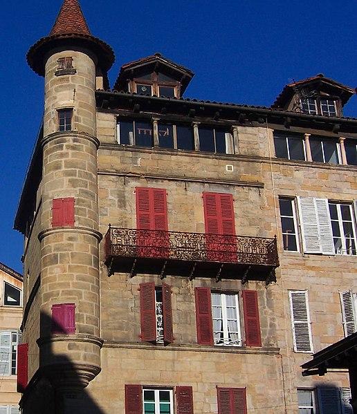 Photo du Monument Historique Maison Sisteron situé à Figeac