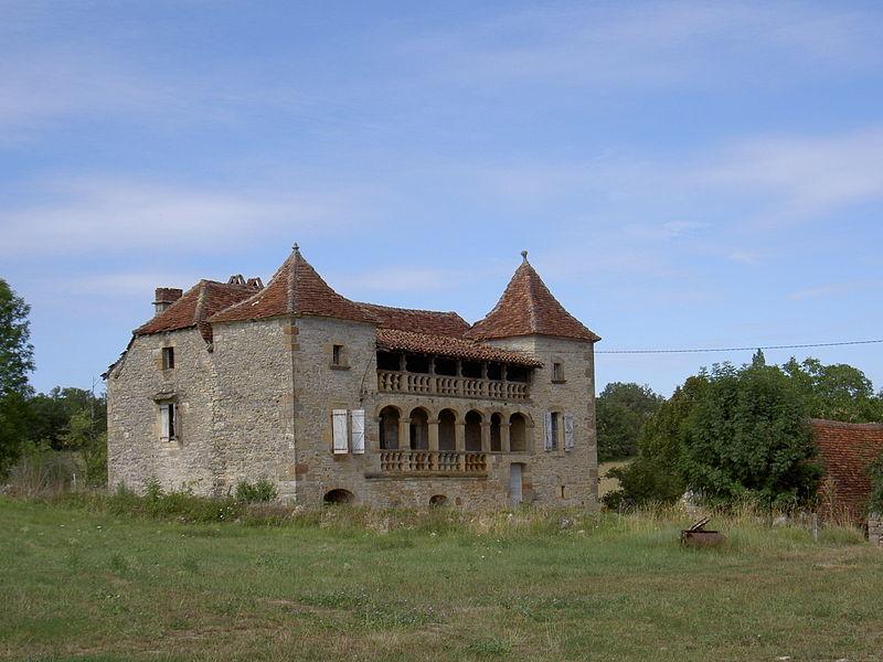 Photo du Monument Historique Maison Reveillac à Aubignières situé à Fons