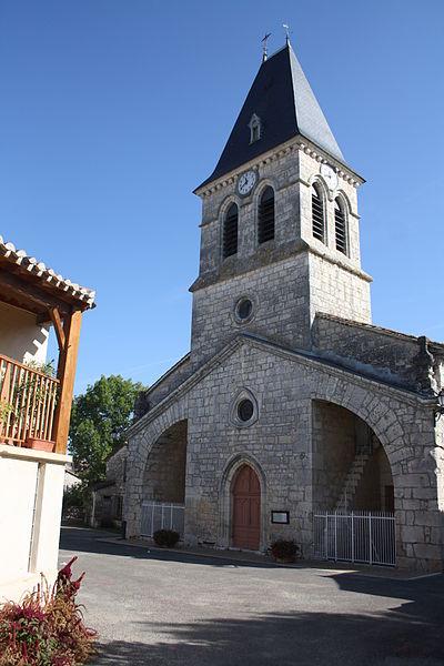Photo du Monument Historique Eglise Saint-Clair situé à Fontanes-du-Causse
