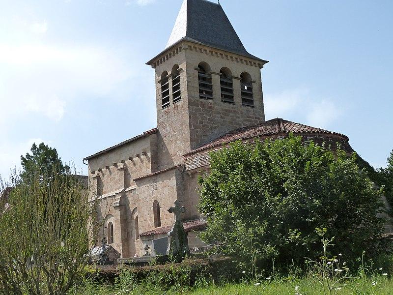 Photo du Monument Historique Eglise situé à Fourmagnac
