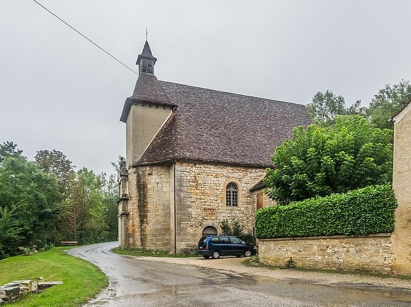 Photo du Monument Historique Chapelle Notre-Dame-des-Neiges situé à Gourdon