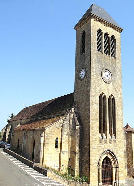 Photo du Monument Historique Eglise des Cordeliers situé à Gourdon