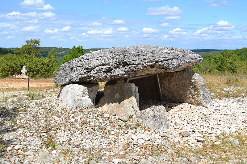 Photo du Monument Historique Deux dolmens situé à Gréalou