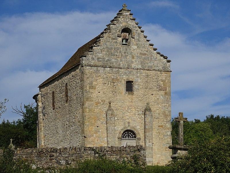 Photo du Monument Historique Chapelle Saint-Médard-Lagarenie situé à Issepts