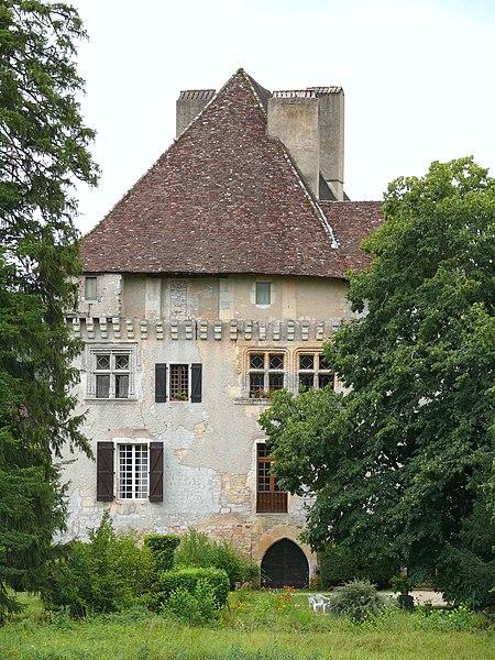 Photo du Monument Historique Château situé à Les Junies