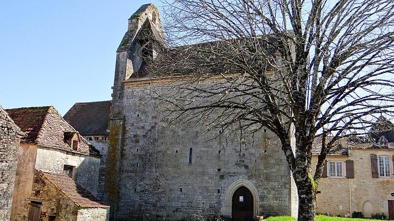Photo du Monument Historique Eglise de Canourgues situé à Les Junies