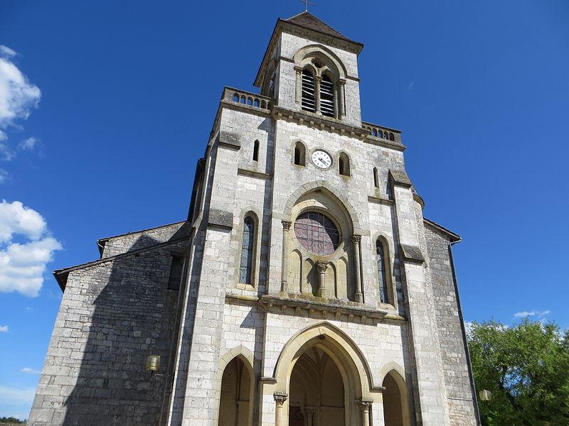 Photo du Monument Historique Eglise situé à Lalbenque