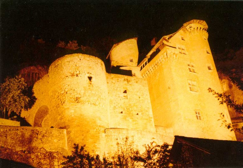 Photo du Monument Historique Château situé à Larroque-Toirac