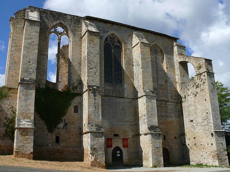 Photo du Monument Historique Abbaye Nouvelle situé à Léobard