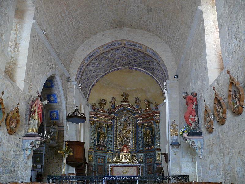 Photo du Monument Historique Eglise Notre-Dame situé à Lherm