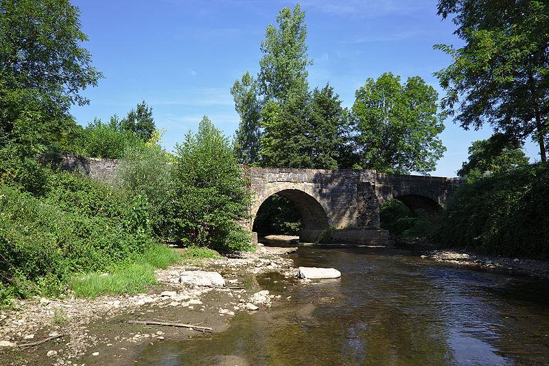 Photo du Monument Historique Pont de Maday situé à Loubressac