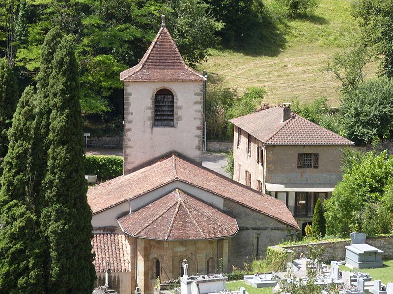 Photo du Monument Historique Eglise situé à Lunan
