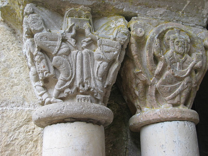 Photo du Monument Historique Ancienne abbaye Saint-Pierre situé à Marcilhac-sur-Célé