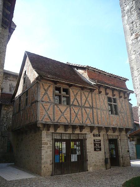 Photo du Monument Historique Maison dite Maison du Roi situé à Marcilhac-sur-Célé