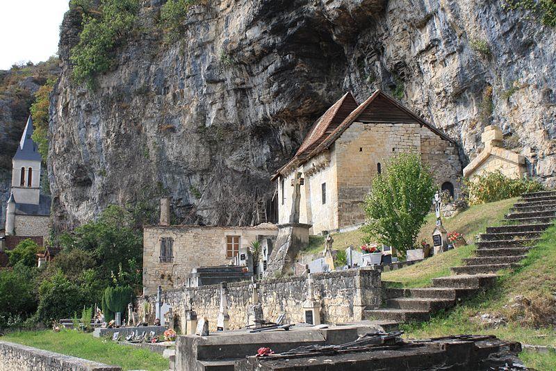 Photo du Monument Historique Ancienne église Saint-Pierre-ès-Liens de Gluges situé à Martel