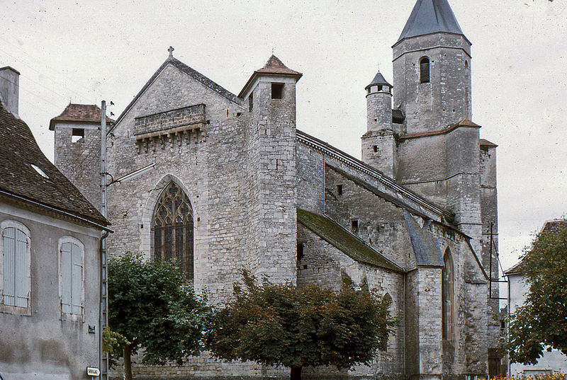 Photo du Monument Historique Eglise Saint-Maur situé à Martel