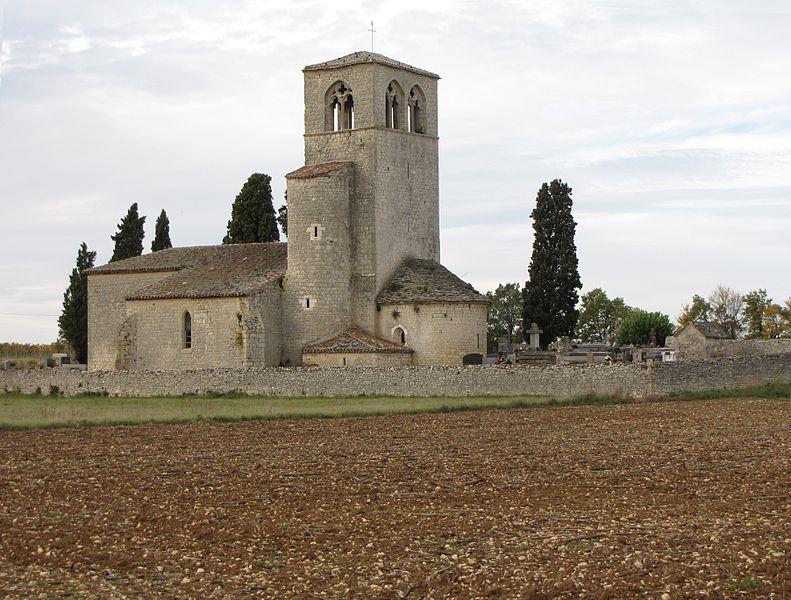 Photo du Monument Historique Eglise de Cabanac situé à Mauroux