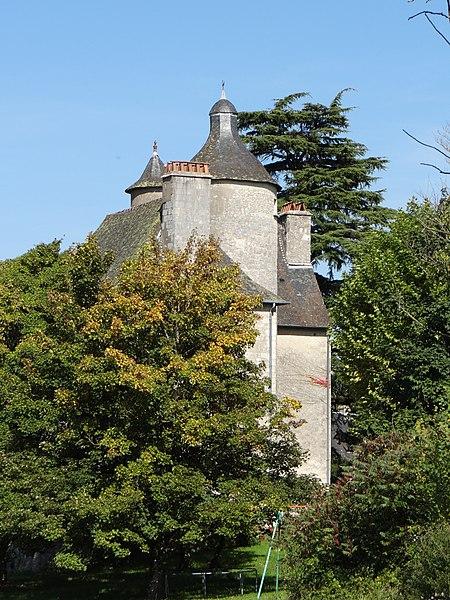 Photo du Monument Historique Château situé à Mayrac
