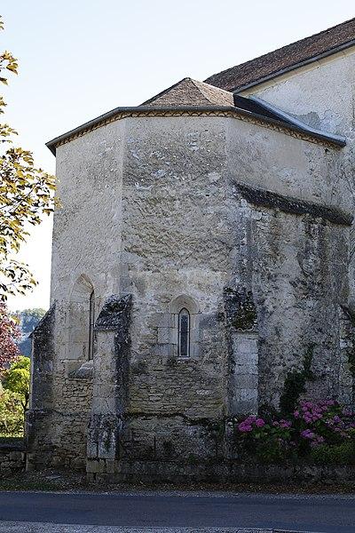 Photo du Monument Historique Eglise situé à Meyronne
