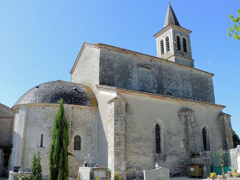 Photo du Monument Historique Eglise situé à Le Montat