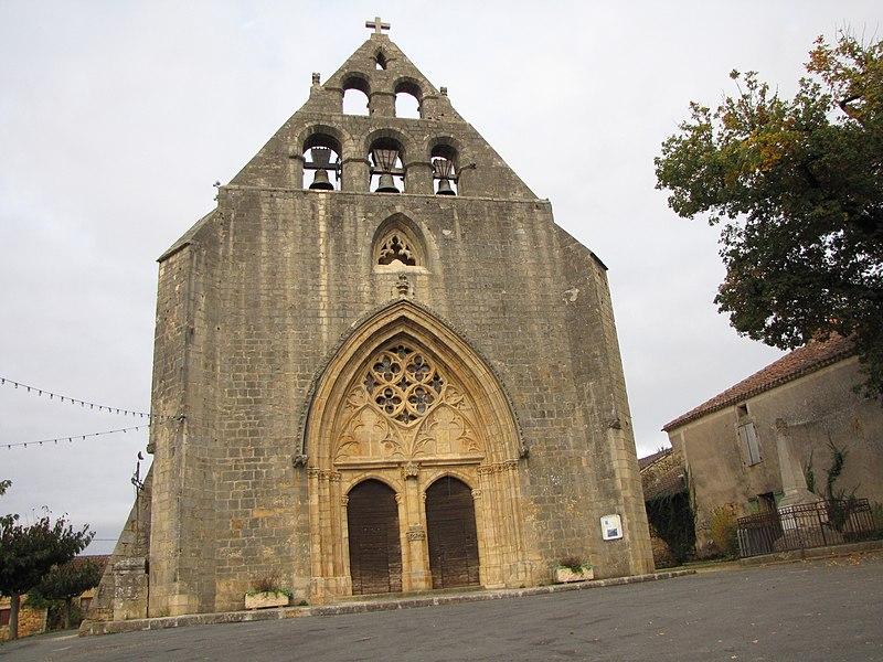Photo du Monument Historique Eglise Saint-Louis situé à Montcabrier