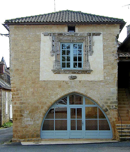 Photo du Monument Historique Maison du 16e siècle situé à Montcabrier