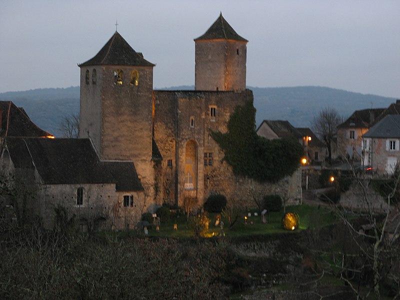 Photo du Monument Historique Eglise Saint-Christophe situé à Montvalent