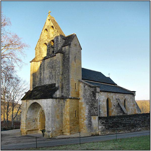 Photo du Monument Historique Eglise situé à Nadaillac-de-Rouge