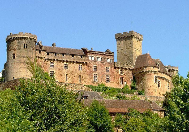 Photo du Monument Historique Château de Castelnau-de-Bretenoux situé à Prudhomat