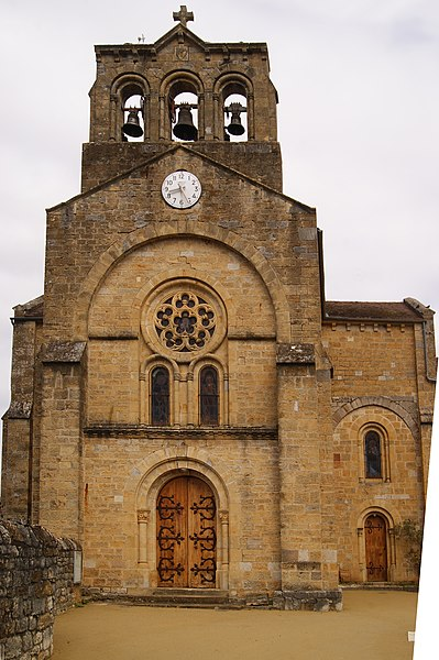 Photo du Monument Historique Eglise Saint-Gilles de Bonneviole£ situé à Prudhomat