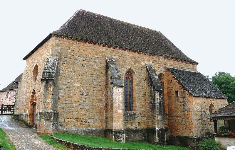 Photo du Monument Historique Eglise du château de Castelnau-de-Bretenoux£ situé à Prudhomat