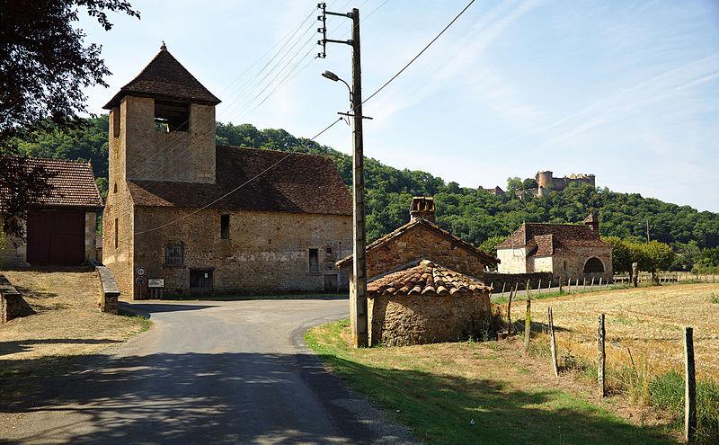 Photo du Monument Historique Ancien prieuré de Félènes situé à Prudhomat