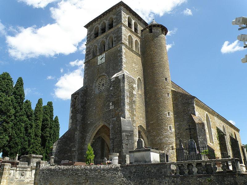 Photo du Monument Historique Eglise situé à Puy-l'Evêque