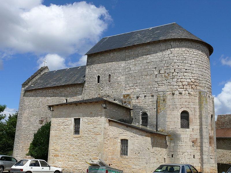 Photo du Monument Historique Eglise situé à Reilhac