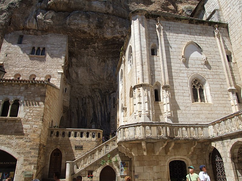 Photo du Monument Historique Chapelle Notre-Dame ou Miraculeuse ou de la Vierge situé à Rocamadour
