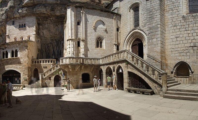 Photo du Monument Historique Eglise Saint-Sauveur et crypte Saint-Amadour situé à Rocamadour