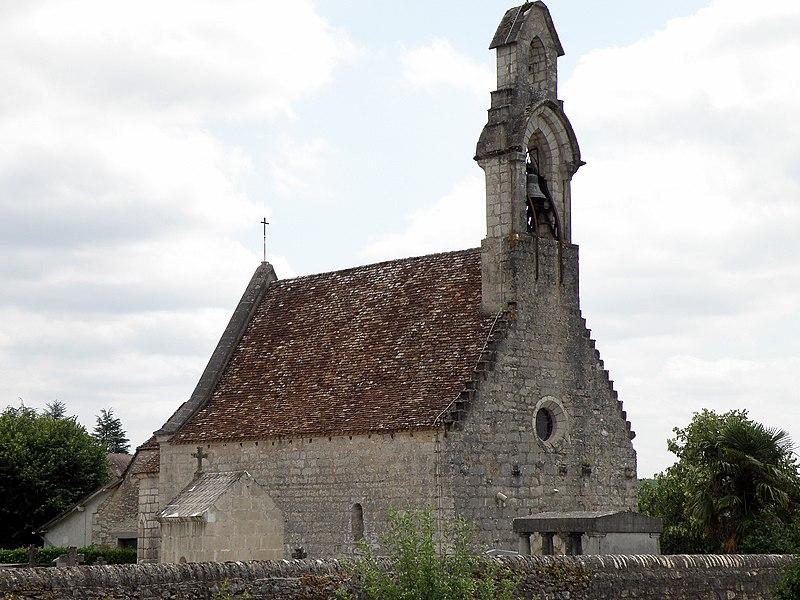 Photo du Monument Historique Eglise du hameau de l'Hospitalet situé à Rocamadour