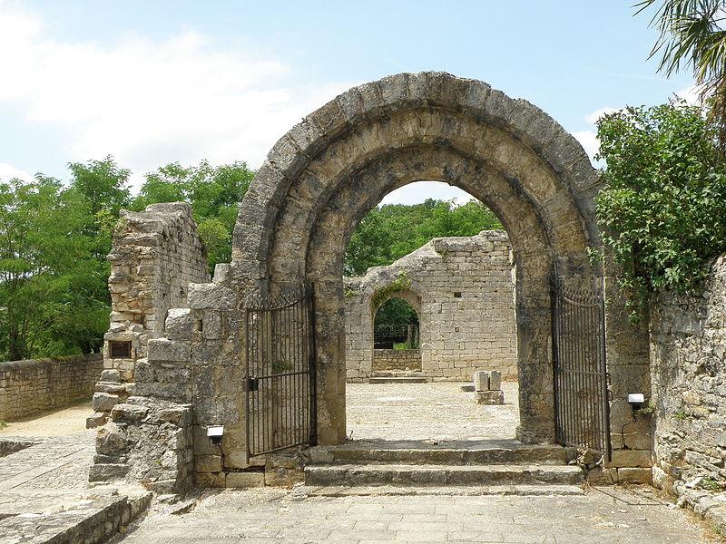 Photo du Monument Historique Ruines de l'ancien hôpital situé à Rocamadour