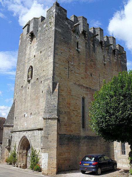 Photo du Monument Historique Eglise Saint-Martial situé à Rudelle