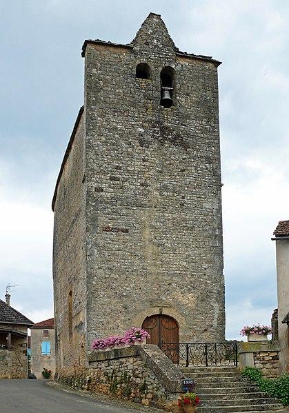 Photo du Monument Historique Eglise situé à Saint-Caprais