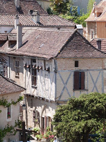 Photo du Monument Historique Maison situé à Saint-Cirq-Lapopie