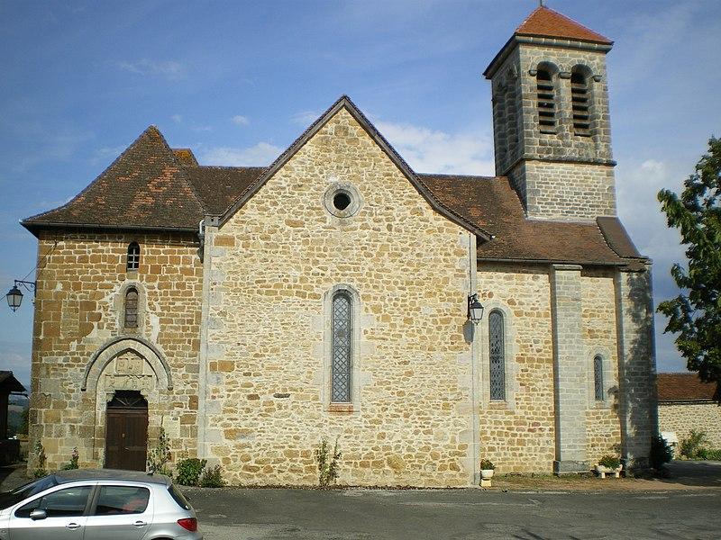 Photo du Monument Historique Eglise situé à Saint-Jean-Mirabel