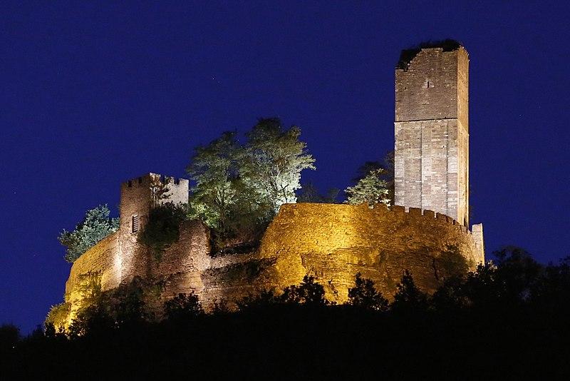 Photo du Monument Historique Château situé à Saint-Laurent-les-Tours