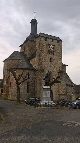 Photo du Monument Historique Eglise Saint-Michel situé à Saint-Michel-de-Bannières