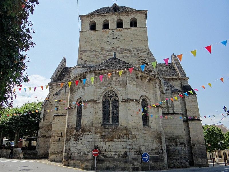 Photo du Monument Historique Eglise Saint-Jacques-le-Majeur situé à Salviac