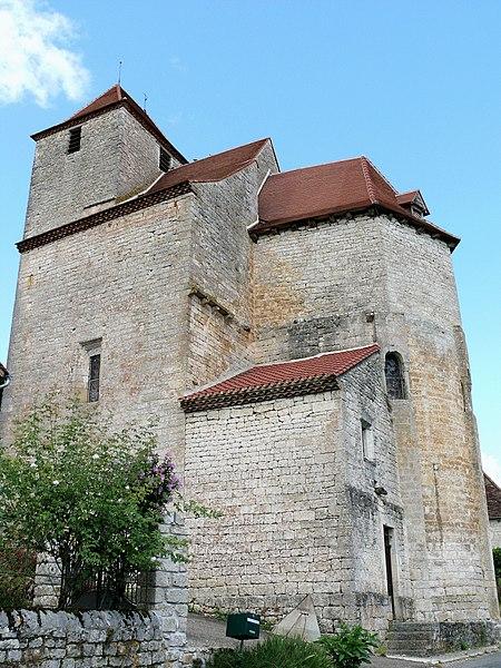 Photo du Monument Historique Eglise Saint-Martin situé à Séniergues