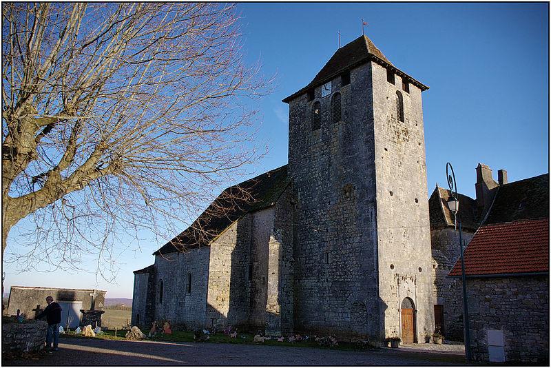 Photo du Monument Historique Eglise et presbytère situé à Soulomès